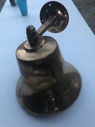"""Perko 12"""" Fog Bell Never Used, Boating, Decor, Nautical, Beach, Bell, Yachting."""