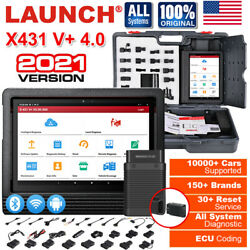 Launch X431 V+ Car Obd2 Wifi Bt Scanner Tablet Full System Diagnostic Scan Tool