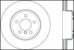 StopTech 127.34124R StopTech Sport Rotor