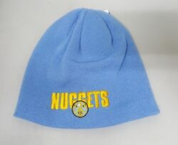 Denver Nuggets Baby Blue Nba Beanie New With Tags One Size Fits Most
