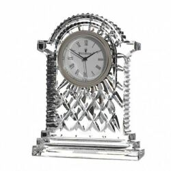 Waterford Crystal Lismore Carriage Clock Height 17.5 Cm