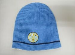 Denver Nuggets Reversible Blue Adidas Beanie Nwt One Size Fits Most
