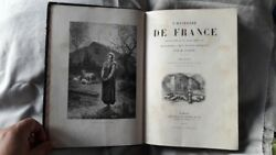 Antique French Book The History Of France By M.guizot 1875 Paris Engravings