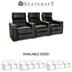 Seatcraft Dynasty Home Theater Seating Recliners Seat Chair Couch Living Room