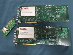 Gage 1610 Compuscope 16 Bit 10mss/ Dual Channel A/d And O-scope Card X 2 Sets