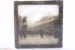✅ Magic Lantern Slide Of Bank Of England Picture Glass Projection, Projector 3