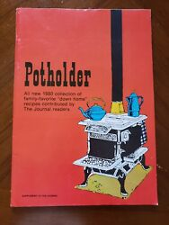 Potholder 1980 New Ulm Journal Supplement Cook Booklet Recipes Mid Century