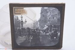 ✅ Magic Lantern Projection, Projector Slide Picture Glass 'holborn England'  3