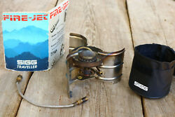 Sigg Fire Jet Backpacking Camp Stove Fire Jet Ultra Light classic vintage PARTS