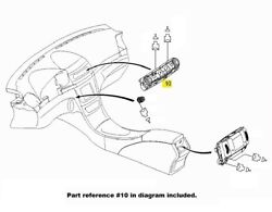 For Heater Control Operating Unit Genuine For Mercedes-benz W211 E Class 03-04