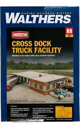 Ho Scale Walthers Cornerstone 933-4131 Cross-dock Truck Facility Building Kit
