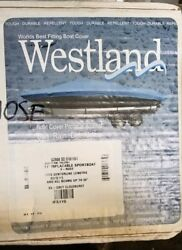 New Westland 11and039 Inflatable Sportboat Dinghy Raft V-nose Boat Cover Silver Grey