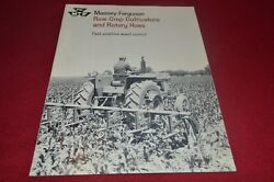 Massey Ferguson Row Crop Cultivators And Rotary Hoes Dealer Brochure Cdil