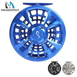 Maxcatch Sprint Fly Fishing Reel 6/8 7/9 9/11wt Expert Fully Sealed Cnc-machined