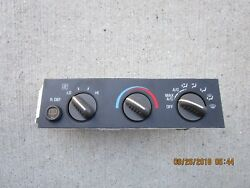 02 - 07 CHEVY EXPRESS 1500 2500 A/C HEATER CLIMATE TEMPERATURE CONTROL 9375785