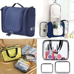 Toiletry Carry Pouch Portable Cosmetic Makeup Bag for Vacation Bathroom Organize