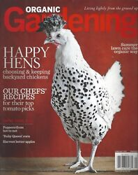 Organic Gardening (JunJul 2010) Choosing & Keeping Backyard Chickens ~ F937
