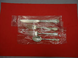 Andante By Gorham Sterling Silver Regular Size Place Settings 4pc New