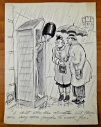 Org Colliers Liberty Saturday Evening Post Hand Drawn Cartoons By George H Mabie