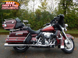 2003 FLHTCUI - Electra Glide® Ultra Classic® Injection -- 2003 Harley-Davidson® FLHTCUI - Electra Glide® Ultra Classic® Injection    Red