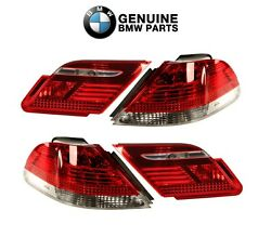 For Bmw E65 E65 7-series 745i 750li Rear Inner And Outer Tail Lights Genuine