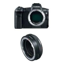 Canon EOS R Mirrorless Digital Camera Body 3075C002 + Control Ring Mount Adapter