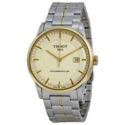 Tissot Powermatic 80 Ivory Dial Menand039s Watch T0864072226100
