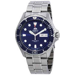 Orient Ray Ii Automatic Blue Dial Menand039s Watch Faa02005d9