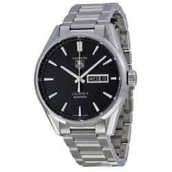 Tag Heuer Carrera Automatic Black Dial Menand039s Watch War201a.ba0723