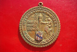 Top Rare Boxing Usa-romania 1978 Aau Sfifter Higher Stronger Championship Medal