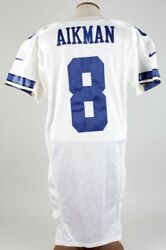 2000 Troy Aikman Game-Worn Jersey Cowboys (wRare Landry Memorial Patch)- COA