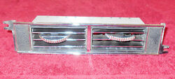 1967 1968 Mustang Fastback Coupe Convertible Gt Shelby Orig Dash Center A/c Vent