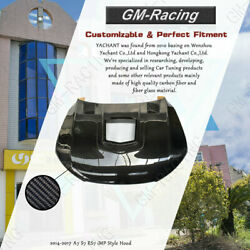 Carbon Fiber IMP Hood with Glass For 2014-2017 A7 S7 RS7 Bonnet Cover