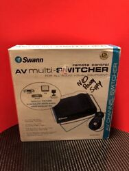 Swann Remote Control AV Multi Channel Switcher SW-P-AVMH Missing Power Supply