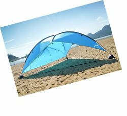 Oileus Super Big Canopy Tent with Sand Bags - Easy up Beach Tent Sun Shelter ...
