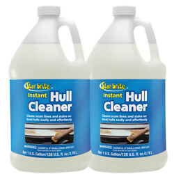 2-pack Star Brite Instant Hull Cleaner 1 Gal. Cleans Boat Scum Lines And Stains