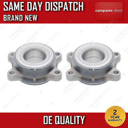 X2 REAR WHEEL BEARING HUBS FIT FOR A NISSAN 350Z COUPE 3.5 2003>2009 *BRAND NEW*