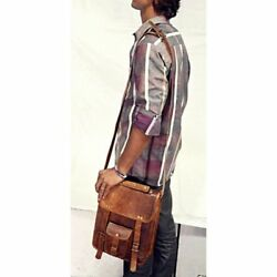 Bag Leather messenger bag laptop bag S to XL case shoulder bag for men amp; women $52.00