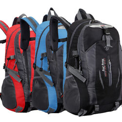 Camping 40l Mountaineering Backpack Bag Hiking Outdoor Travel Rucksack Bags New $14.99