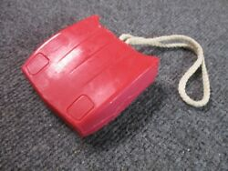 84/96 Corvette Hood Soap On A Rope Torch Red Christmas Free Ship
