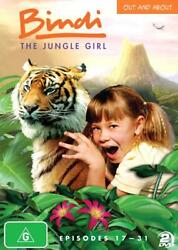 Bindi The Jungle Girl - Out And About Dvd 2013 2-disc Set - Region 4