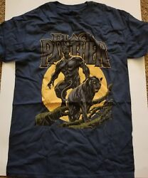 NWOT Marvel Comics Black Panther t-shirt size S 100% cotton NICE Wakanda Forever