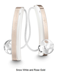 2 Brand New Signia Styletto 7 Rie Rechargeable Hearing Aids + Free Charger