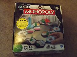 Monopoly U-build Board Game Replacement Parts, Cards, Money And Tiles - You Choose