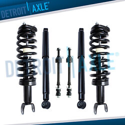 Dodge Ram 1500 Struts + Shocks Absorbers + Sway Bars For Front And Rear 4x4 5 Lug