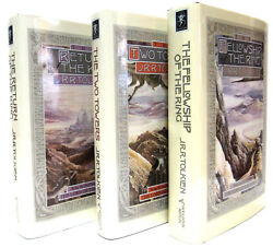 Lord Of The Rings1-3 Fellowship Of The Ringtwo Towers J R R Tolkien Hardcover