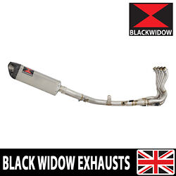 Gsxr 600 750 L1-l9 2011-2019 Race Exhaust System Stainless+carbon Silencer Sc35t