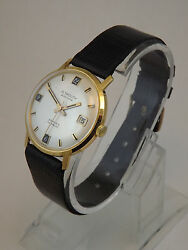 Plymouth Montre Hommes Or 18 Kt Automatique Dand039andeacutepoque Ans 70 Selfwind Or Montre