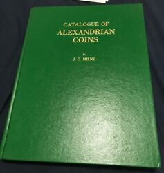 Catalogue Of Alexandrian Coins By Jg Milne