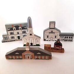 Cats Meow Faline Church Library Hometowne Collectibles Abington Ma Hart96 Lot 5
